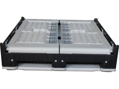 Collapsible Plastic Pallet Box