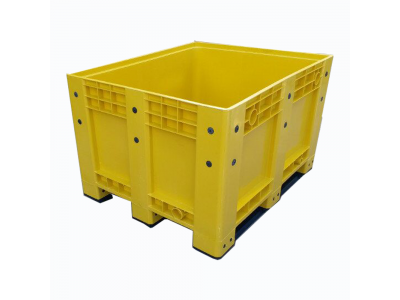 Solid Bulk Stackable Plastic Container